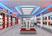 thiết kế thi công shop bán hàng đẹp tại tphcm