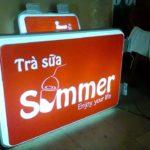 Mẫu bảng hiệu hộp đền Mica đẹp
