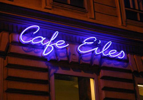 Bảng hiệu đèn led quán cafe đẹp