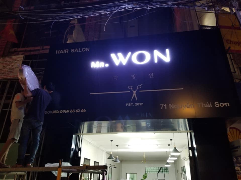 Thi công làm bảng hiệu quảng cáo tại quận Gò Vấp