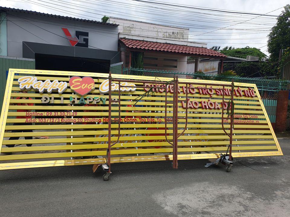 Mẫu bảng hiệu quảng cáo thanh lam cho nhà hàng
